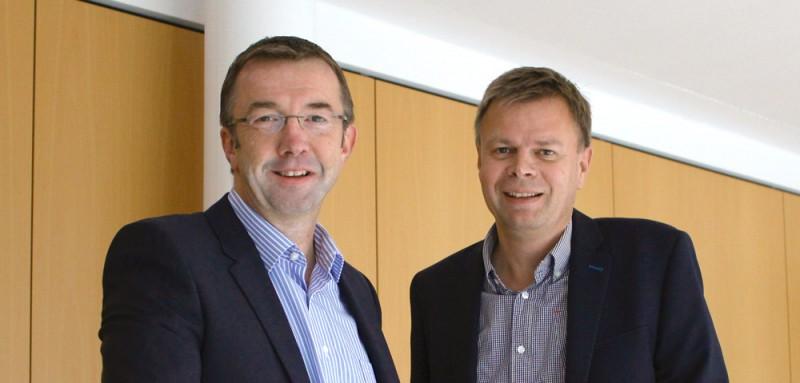 Holger Schaarschmidt und Peter Müller